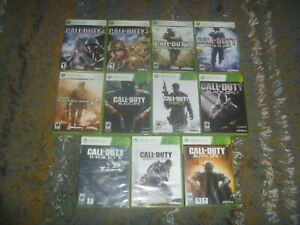 Call Of Duty Games Microsoft Xbox 360 Tested Works Great With Case