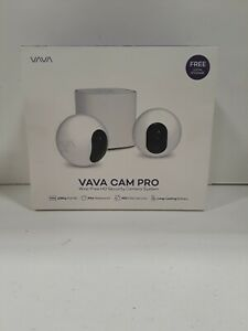 NEW VAVA CAM PRO WIRE FREE HD SECURITY CAMERA SYSTEM $122.38