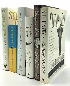 Stephen Fry Group of 6 books from the collection of William Signed Proof 2010 $406.00