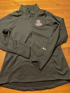 Under Armour Cold Gear Gamecocks Womens Size Large 1 4 Zip Long Sleeve Pullover $21.99