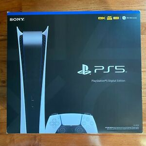 Sony Playstation 5 PS5 Digital Edition Console IN HAND BRAND NEW $849.99