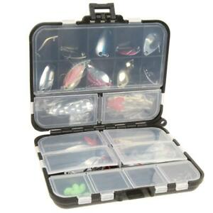 37pcs Metal Spoon Fishing Lure Kits Spinning with Box Tackle #JD