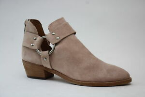 Frye Ray Harness Womens Booties Casual Low Heel 1 2 Size 6 M $20.99