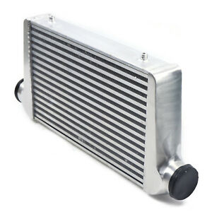 3 Inlet Outlet FMIC Universal Aluminum Turbo Intercooler 25X12X3 Inch Durable $108.00