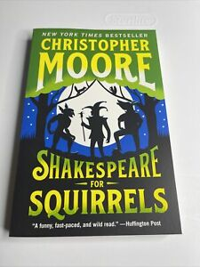 Shakespeare for Squirrels Paperback by Moore Christopher New Fr...