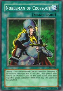 YuGiOh Nobleman of Crossout PSV 034 Super Rare Unlimited Edition Heavily P $3.85