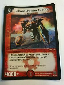 Valiant Warrior Exorious Duel masters DM 06 Stomp A Trons of Invincible W $14.99