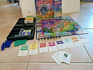Parker Brothers The Disney Edition Monopoly Board Game 2001 Hasbro Complete $36.25