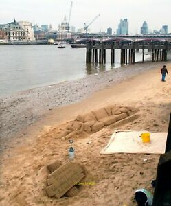 Photo 6x4 Sand Sculptures on the South Bank The riverside path along here c2012 GBP 2.25