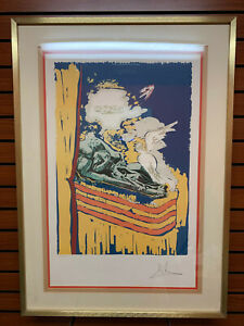 Lithograph of Salvador Dali#x27;s The Immaculate Conception 1979 $1190.00