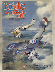 Knights of the Air Vintage Board Game World War I Air War Game Complete $40.00