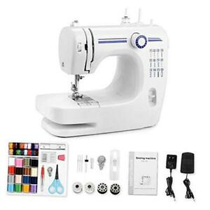 Mini Sewing Machine Portable Automatic Sewing Machines with 12 Built in $103.66