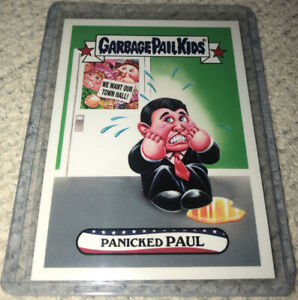 2017 Garbage Pail Kids Trumpocracy The first 100 Days Panicked Paul #66