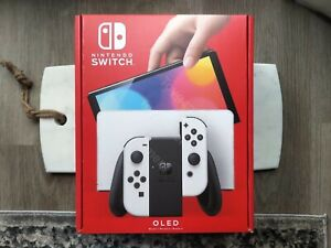 Brand New Nintendo Switch Oled White Joy Con In hand Fast Shipping $519.99