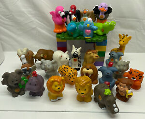 Little People LOT 27 Mixed Fisher Price Sea Exotic Zoo animals Great Gift � $39.99