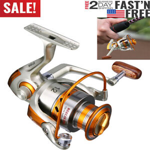 Large Spinning Fishing Reel Fast Speed Durable amp; Corrosion Saltwater Surf 12BB