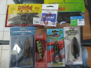 Ready2Fish Fishing Tackle Lot #1 4 Top Water Lures plus extras