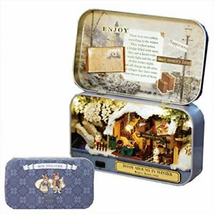 moin moin Miniature handmade kit Rabbit series living in an accessory case LED $51.90
