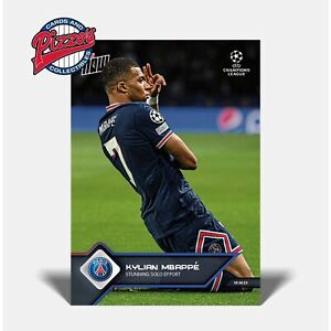 Kylian Mbappe Stunning solo effort UCL TOPPS NOW Card #49 Presale $5.22