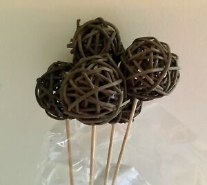 Twig Grapevine Ball 25 Dried Floral Stems New in package $25.99