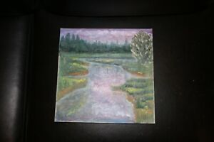 oil paintings original signed abstract wall art scenery impressionistic $100.00