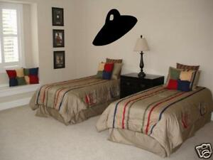UFO Boys Bedroom Nursery Kids Wall Art Decal Vinyl