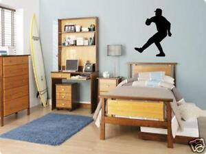 BASEBALL Player Boys Bedroom Kids Wall Art Decal
