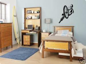 BMX BIKE RIDER Boys Bedroom Kids Wall Art Decal