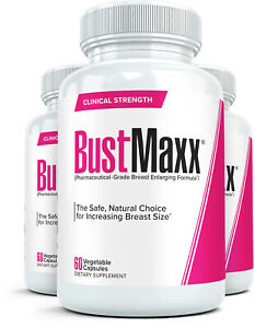 3x BUSTMAXX #1 Most Trusted Natural Breast Enlargement amp; Enhancement Supplement $69.95