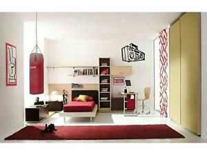 BOOMBOX Radio Rock Music Boys Girls Bedroom Kids Wall Decal Sticker Decor 24quot; $13.99