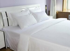 1 Pack Premium Pillow Case Cover Standard Bright White T180 Percale