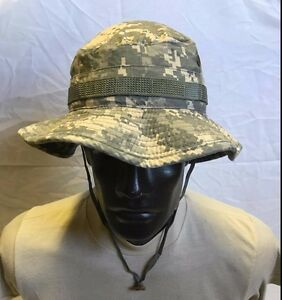 ARMY BOONIE ACU DIGITAL SIZE 6 7 8 GOVERNMENT ISSUE USED $8.95