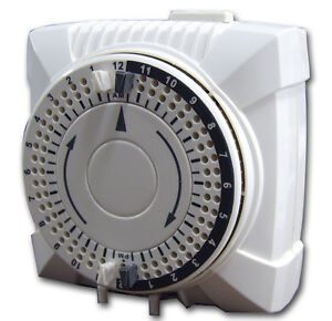 On/Off Setting 24 Hour Timer Mechanical Light Control 1-Outlet UL NEW