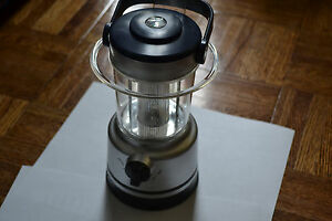 16 LED Lantern Battery Camping Emergency Survival Storm Bright New W Compass
