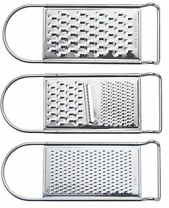 Flat Zest Grater Stainless Steel Grinder Grate Cheese Vegetables Kitchen Tool