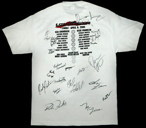 Ultimate Fighter Season One T-Shirt w 23 Signatures UFC MMA Dana White Liddell
