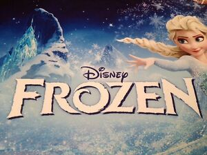 FROZEN Limited Ed. 4 LIthographs Set Anna Elsa Olaf NEW Disney Store Exclusive