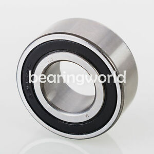 5306 2RS Double Row Sealed Angular Contact Bearing 30mm x 72mm x 30.2mm $22.03