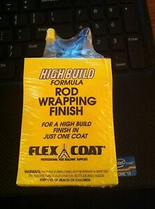 Flexcoat 4 OZ High Build Rod Build Thread Finish F4Y KIT Yorker Caps Free Ship