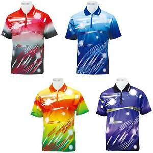 Mens Ping Pong Jersey Table Tennis T-shirt Tee Coolever Dry Fit Sports Competion