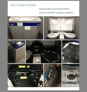 Arri 1Laser film recorder arri  Any fair offer will be accepted