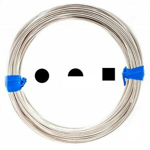 925 Sterling Silver wire Dead Soft Round-12 Round-Square 22 24 26 28 30 Gauge