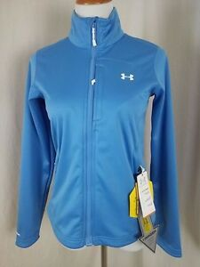 NEW Under Armour Womens Storm Magzip Jacket size Small in Blue NWT