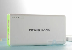 50000mah External Power Bank Backup Dual USB Battery Charger For Cell Phone