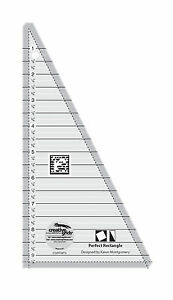Creative Grids Perfect Rectangle Triangle Sewing and Quilting Ruler $22.99