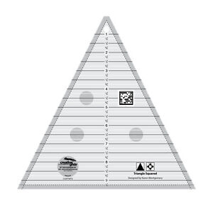 Creative Grids Triangle in a Square Sewing and Quilting Ruler $23.99