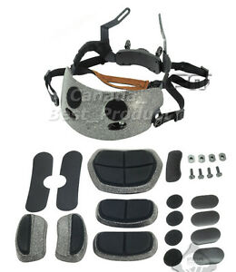 Tactical Airsoft FMA Comfort Dial Liner Kit for Fast MICH Maritime Helmet ACH BK