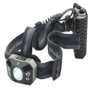 Black Diamond Icon Headlamp Alumium New Sporting Goods Outdoor Sports Camping