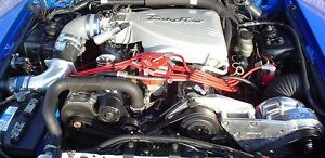 Mustang & Cobra Procharger 5.0L D-1SC Supercharger Stage II System 12 Rib 86-93