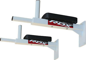RDX Wall Mounted Dip Workout Gym Station Stand Sit Push Heavy